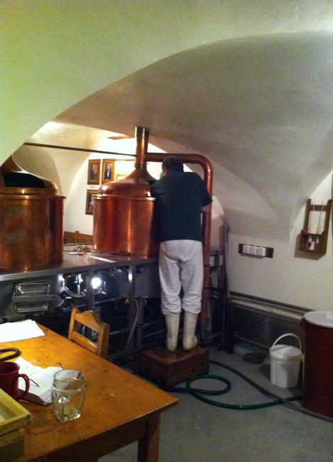 Confesso que o cervejeiro estava um pouco de mau humor.