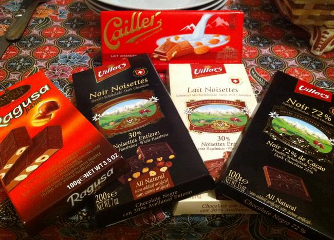 Que tal harmonizar com chocolate suíço?