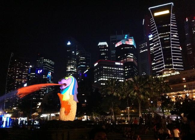 Singapura e seu símbolo: o Merlion!