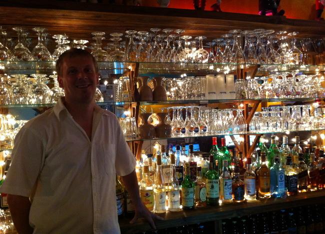 Vincent, cervejeiro belga no Laos
