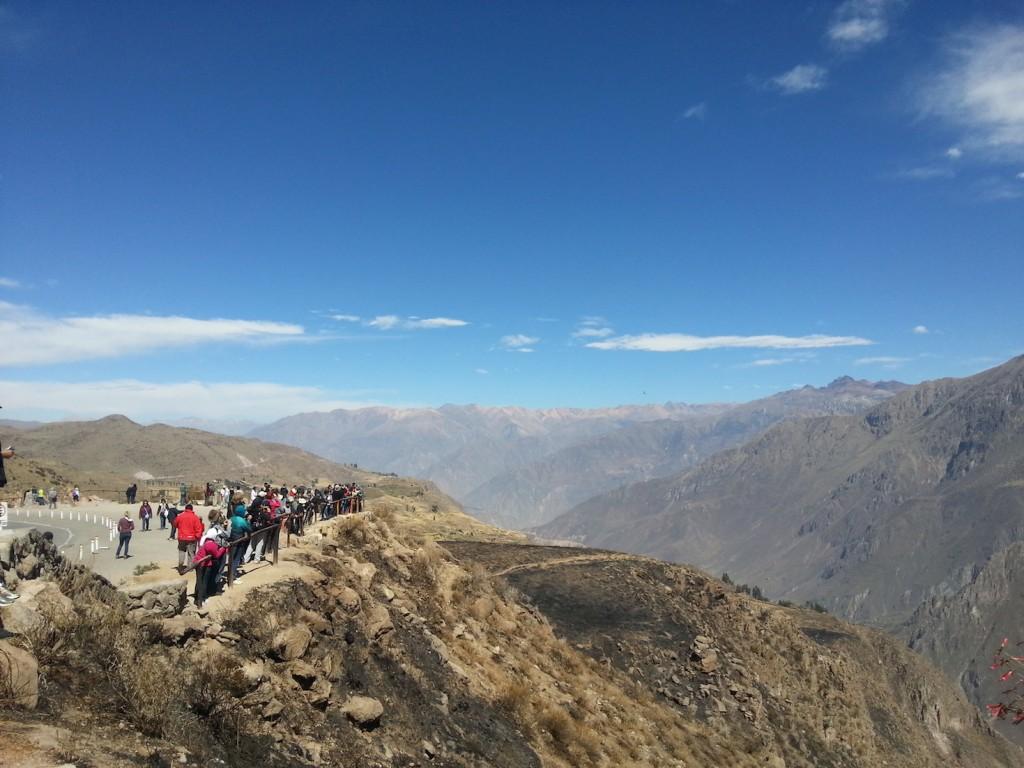 Depois de passar por dois vulcões e chegar a 4,9 mil metros de altitude, Cânyon Colca, o lar dos condores