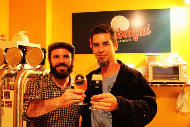 Edson (Viajante Cervejeiro) e o Filipe