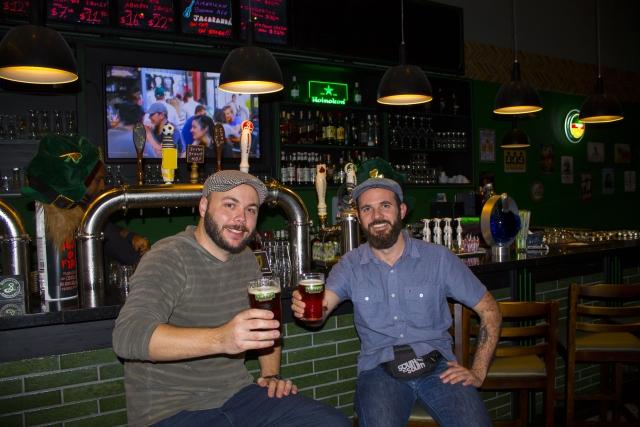 Nuno (Liffey) e Edson (Viajante Cervejeiro)