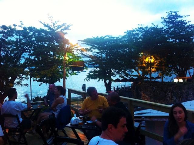 Um dos melhores pores do sol de Florianópolis