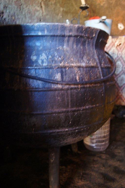 Tacho de cozimento da Tjwala