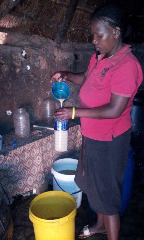 Cervejeira Suazi envazando a Tjwala.