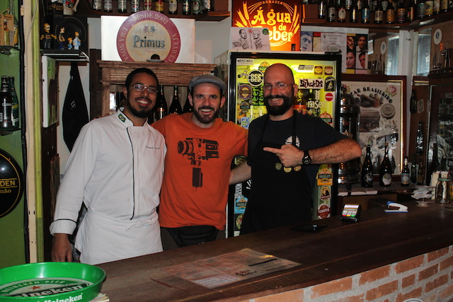 Fernando, eu e o Leandro