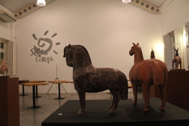 Exposição do artista plástico Caé Braga