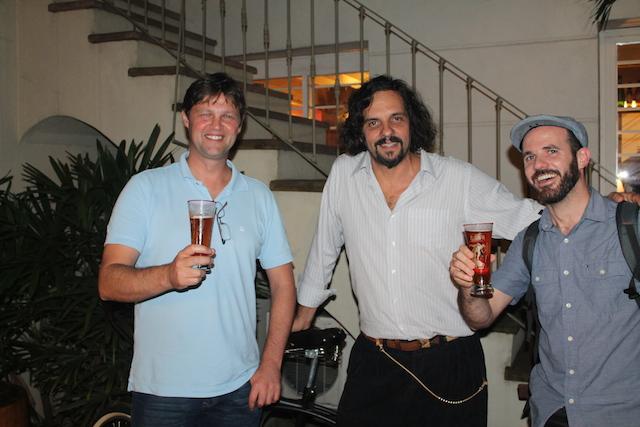 Mica, Caé Braga e o Viajante Cervejeiro