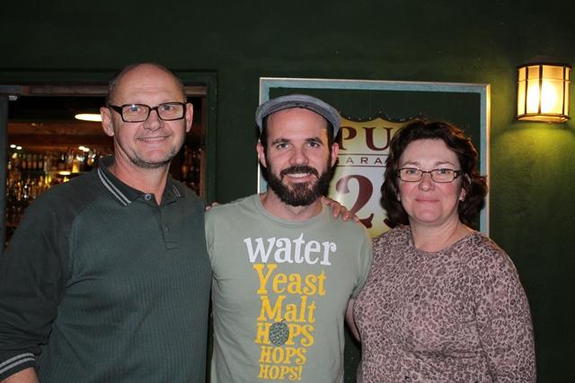 Beto, Edson (Viajante Cervejeiro) e Denise