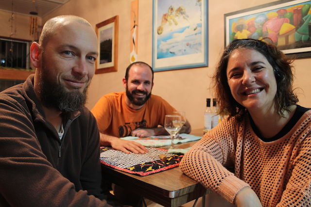 Tiago, eu e Rosana