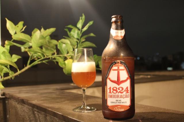 1824 Imigração Weiss (5,5% ABV)