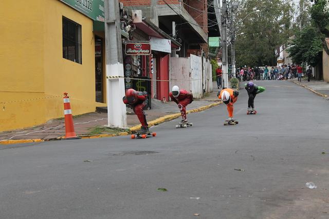 Aliens de skate