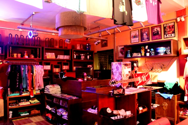 Gift Shop com produtos exclusivos da marca
