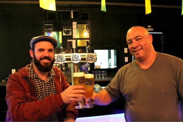 Edson (Viajante Cervejeiro) e Renildo (Faixa Preta)