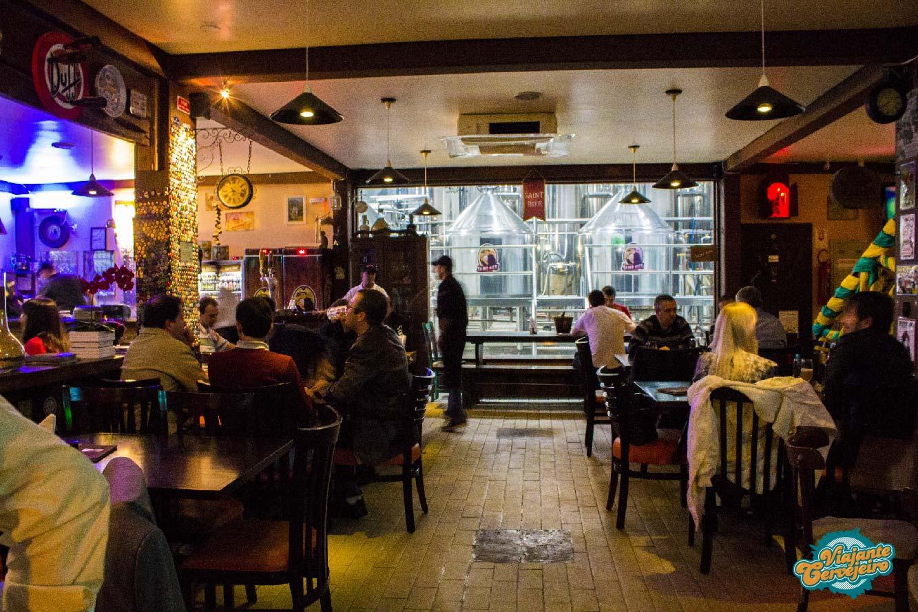 Bar da Cervejaria Saint Bier