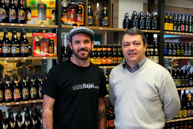 Edson (Viajante Cervejeiro) e Valmir (Bier Vila)
