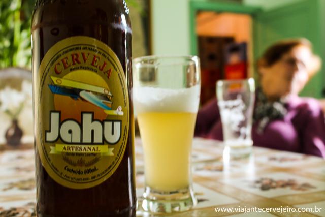 Cerveja Jahu, a preferida da Dona Gerda