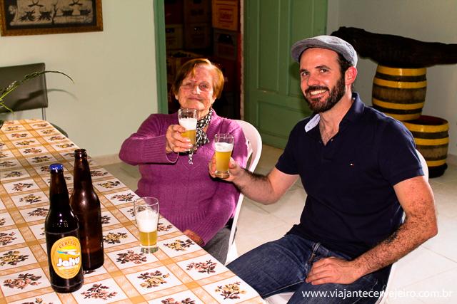 Dona Gerda, simpatia em pessoa