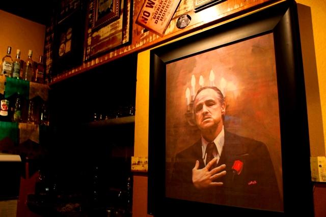 Don Corleone é frequentador assíduo