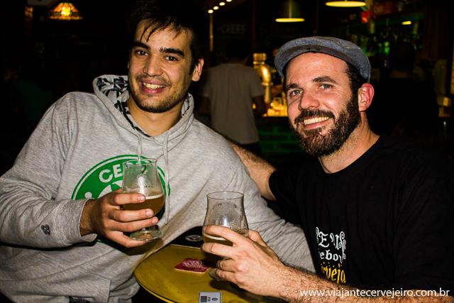 China (Stannis Pub) e Edson (Viajante Cervejeiro)