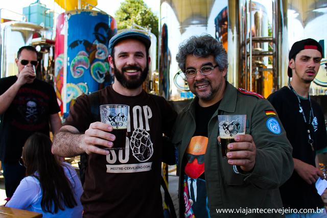 Edson (Viajante Cervejeiro) e Samuel (Bodebrown)