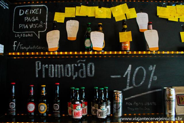 Deixe uma cerveja paga para seu amigo e ganhe outra