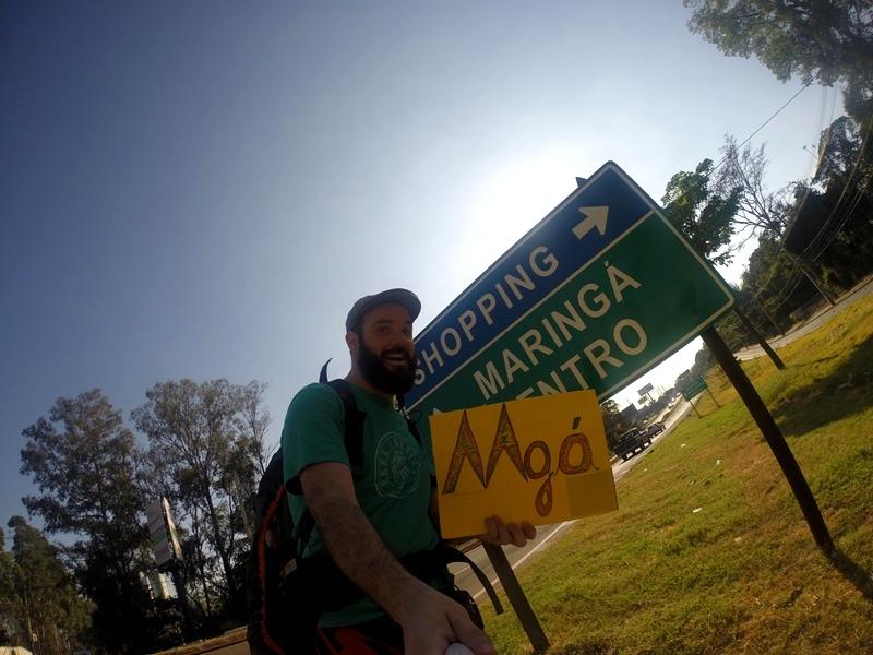 Cheguei em Maringá