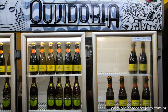 Cervejas artesanais mineiras e paranaenses no Ouvidoria