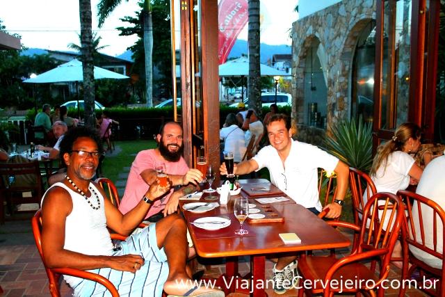 Judson, Edson (Viajante Cervejeiro) e Murilo (Caborê)