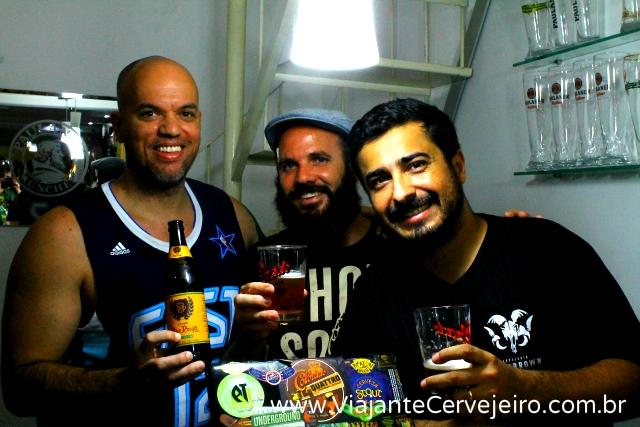 Diogo, Edson e Pedro