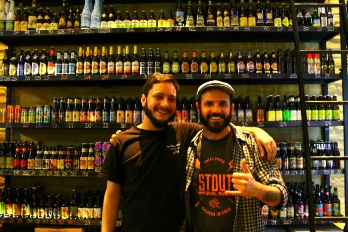 Com o Guilherme Rossi