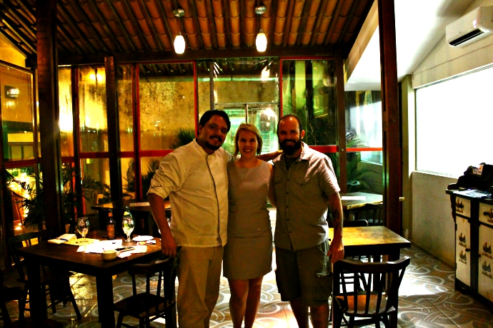 Boris, Karol e eu (Edson)