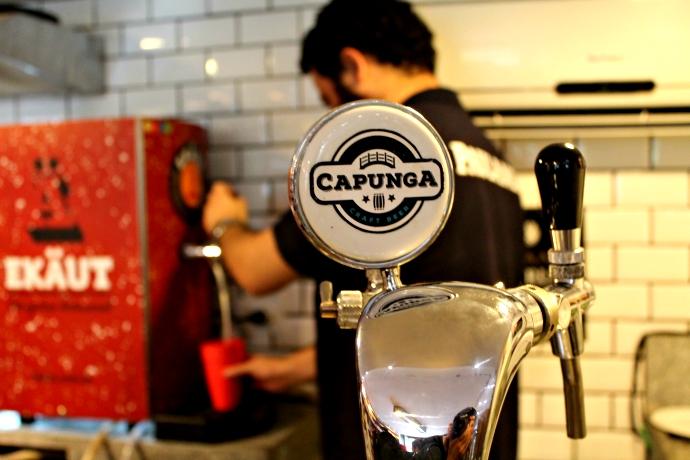 Capunga, outra cervejaria local de Recife