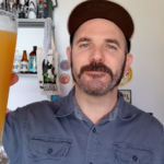 Cerveja de trigo com suco de laranja
